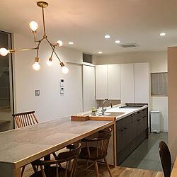 キッチン/LIXIL/シビルチェア/アクメファニチャー 照明/スプートニクランプ...などのインテリア実例 - 2019-01-21 00:06:59