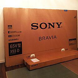 部屋全体/SONY TV/SONY/SONY 4Kテレビ/ソニーのインテリア実例 - 2016-06-11 20:11:54