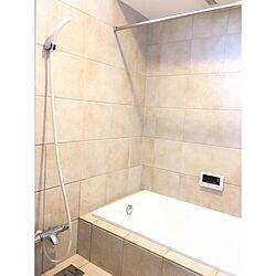 バス/トイレ/浴室乾燥/タイル/シンプルが好き/すっきり暮らしたい...などのインテリア実例 - 2017-03-15 17:21:39