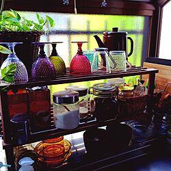 キッチン/観葉植物/IKEA/食器のインテリア実例 - 2014-06-20 21:52:17