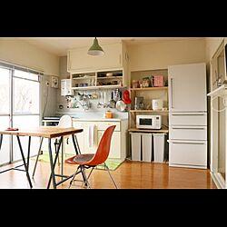 キッチン/イームズ/セルフリノベーション/IKEA/無印良品...などのインテリア実例 - 2015-07-29 14:16:35