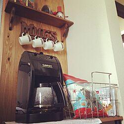 おうちカフェ/コーヒーメーカー/クイジーナート/キッチンのインテリア実例 - 2016-01-11 10:32:59
