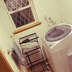 SHARPの洗濯機/新生活始めました/山崎実業/モニター応募投稿/バス/トイレのインテリア実例 - 2020-01-11 19:41:31
