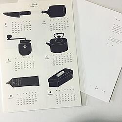 部屋全体/カレンダー/Instagramやってます/ホワイトインテリア/いいね、フォロー本当に感謝です♡...などのインテリア実例 - 2018-01-10 15:49:25