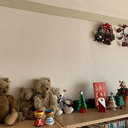 クリスマス飾り/団地住まい/雑貨/リビングのインテリア実例 - 2020-12-11 15:09:55