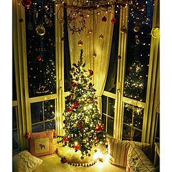 イルミネーション/クリスマス/nuro deco/サンルーム/クッションフロア...などのインテリア実例 - 2016-11-18 20:10:50
