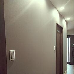 壁/天井/グレー/廊下の壁/グレーの壁/廊下の照明...などのインテリア実例 - 2020-02-27 18:28:09