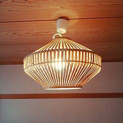 壁/天井/ヴィンテージ/アンティーク/ペンダントライト/IKEA 照明...などのインテリア実例 - 2017-04-21 14:43:09