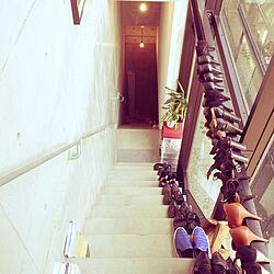 玄関/入り口/靴/コンクリート打ちっ放し/モダン/モノトーン...などのインテリア実例 - 2016-02-28 16:48:34