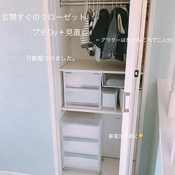 棚/可動棚DIY/子供と暮らす。/子供服収納/暮らし...などのインテリア実例 - 2018-05-22 19:10:18