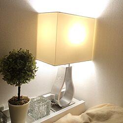 ベッド周り/照明/100均/3COINS/IKEA...などのインテリア実例 - 2014-04-09 20:39:55
