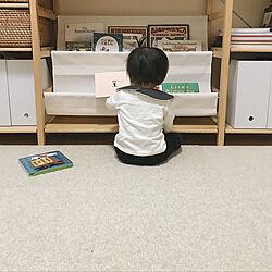 こどもと暮らす。/賃貸/シンプル/Instagram:yui____k/東リファブリックフロア...などのインテリア実例 - 2018-12-01 17:13:42