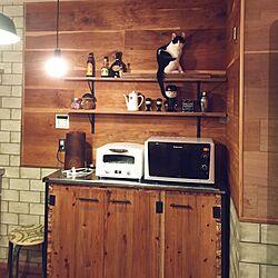 キッチン/DIY/リノベーション/ねこ部/ネコ...などのインテリア実例 - 2016-02-23 21:54:52
