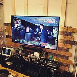 壁/天井/DIY/壁掛けテレビ/リビング/ディアウォールのインテリア実例 - 2017-07-26 20:31:35