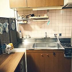 キッチン/3人家族/8畳 DK/狭い部屋/狭小キッチン...などのインテリア実例 - 2020-02-08 23:49:26
