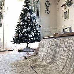 こたつ布団/炬燵/クリスマスツリー/冬支度/リビング...などのインテリア実例 - 2019-11-07 11:45:27