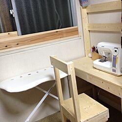 机/椅子/DIY/結露対策/実用的のインテリア実例 - 2014-02-03 18:44:45