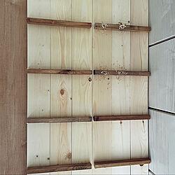 1×4/ホワイト→ブラウン/靴箱 DIY/棚/玄関...などのインテリア実例 - 2021-05-16 18:26:42