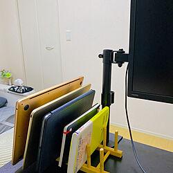 iPadスタンド/Mac/雑貨/IKEA/机...などのインテリア実例 - 2020-08-26 20:24:27