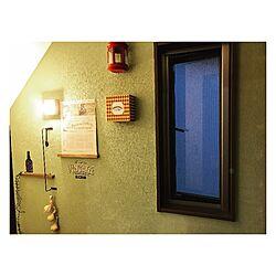 玄関/入り口/塗装壁/塗装DIY/壁/Jカラー...などのインテリア実例 - 2017-05-08 08:38:00