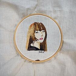 aiko/新しいこと/ハンドメイド/刺繍/手刺繍...などのインテリア実例 - 2020-09-12 14:21:46