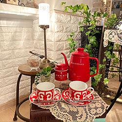 NINA'S 紅茶♥/DEEN&DELUCA/アンティーク/雑貨/アクセントクロス...などのインテリア実例 - 2020-05-28 23:34:08