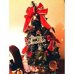 棚/クリスマス飾り/クリスマス雑貨/クリスマスディスプレイ/クリスマス...などのインテリア実例 - 2015-10-30 01:30:48