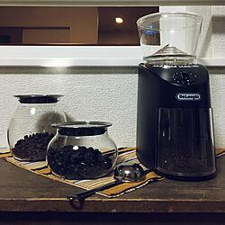 リビング/DeLonghi/KINTO/コーヒータイム/一人暮らし...などのインテリア実例 - 2017-10-06 21:34:23
