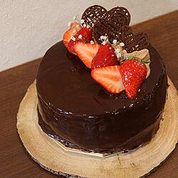 バレンタイン/ハンドメイド/カフェ風/salut!/ケーキ...などのインテリア実例 - 2021-02-16 14:02:19