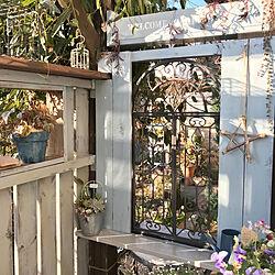 玄関/入り口/棚DIY/10000人の暮らし/植物のある暮らし/花のある暮らし...などのインテリア実例 - 2018-02-07 19:18:16