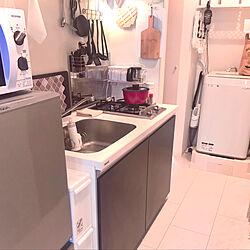 一人暮らし/女子部屋/大人女子/キッチンのインテリア実例 - 2020-01-31 23:07:12