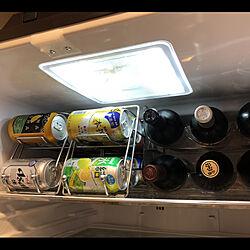 缶ディスペンサー/ワインストッカー/冷蔵庫/冷蔵庫収納/カンディスペンサー...などのインテリア実例 - 2019-05-11 07:41:51
