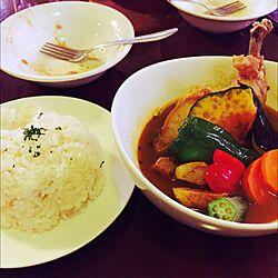 カフェごはん/カフェにて/おいしいもの/お洒落な/スープカレーのインテリア実例 - 2015-04-06 22:33:20