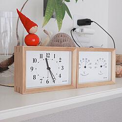 キッチンカウンター/aarikka/RHYTHM PLUS/リズム時計 RHYTHM/時計...などのインテリア実例 - 2019-12-02 22:35:24