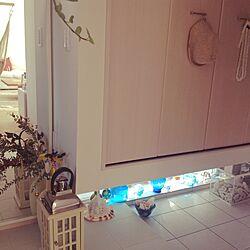 玄関/入り口/フランフランランタン /海が好き/ガラスも好きのインテリア実例 - 2014-11-19 11:01:28