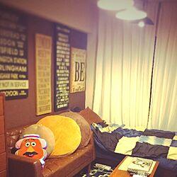 部屋全体/#アートボード/照明/一人暮らし/お気に入り...などのインテリア実例 - 2015-08-30 03:03:41