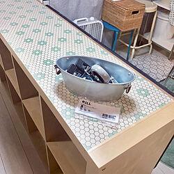 棚/キャスター付けました/キャスター/カラックス/IKEAの棚...などのインテリア実例 - 2019-01-08 22:02:09