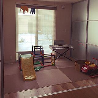 女性38歳の家族暮らし、楽器のおもちゃに関するmi-さんの実例写真