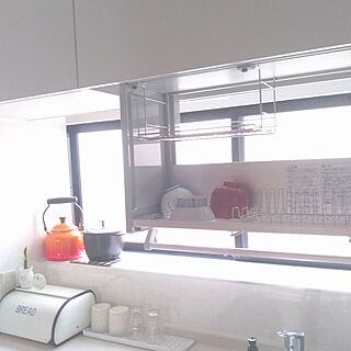 キッチン/ステディア/吊戸棚/昇降式吊戸棚/クリナップ ステディア...などのインテリア実例 - 2020-04-09 14:32:58