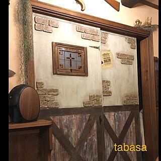 女性48歳の家族暮らし4LDK、ステンドグラス風に関するtabasaさんの実例写真