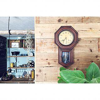 壁/天井/食器/黒板/ワイン箱/アクセントクロス...などのインテリア実例 - 2017-01-22 10:02:32