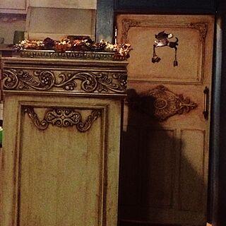 キッチン/オリエンタル/ドライフラワー/プリザーブドフラワー/花...などのインテリア実例 - 2015-03-17 00:44:32