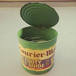 女性家族暮らし、yuppeちゃんリメ缶に関するPeterPan...2003さんの実例写真