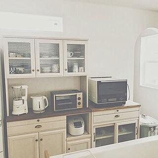 、キッチンの収納に関するyoko.さんの実例写真