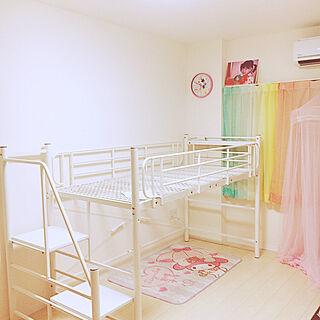 ベッド周り/SAKODA/子ども部屋/カラフル/白...などのインテリア実例 - 2017-12-11 21:08:44