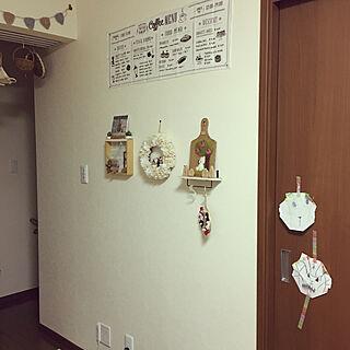 女性家族暮らし2DK、Shima さんの作品に関するNaturalMarbleYoghurtさんの実例写真