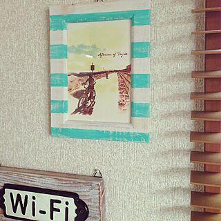 壁/天井/フォトフレーム/100均/DULTON/ダルトン...などのインテリア実例 - 2015-04-05 02:24:13