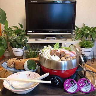 女性39歳の一人暮らし1K、鍋に関するRanRanさんの実例写真