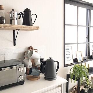 ポスターのある部屋/窓枠DIY/H&M HOME/IKEA/ビアレッティ...などのインテリア実例 - 2019-01-09 21:11:37