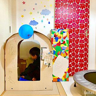 女性家族暮らし3LDK、キッズスペース(和室)に関するtaitaiさんの実例写真
